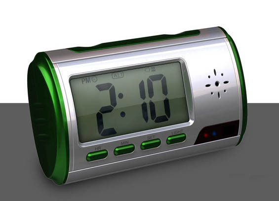 Table Clock DVR, Clock DVR, Eletronic Clock DVR, Spy Clock Camera
