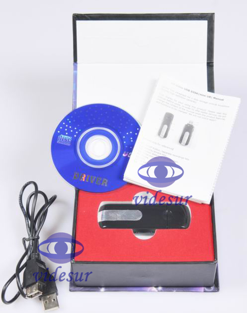 VSU8AVI U Disk Hidden Camera U8/motion detection recording | Super mini USB disk shape DVR camera