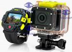iExCam Videsur Wi-Fi 1080P 60FPS IPX8 16.0MP Action Camera