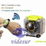 iExCam2 Wifi 1080P Action Cam with Remote Control & APP & Time-Lapse Record